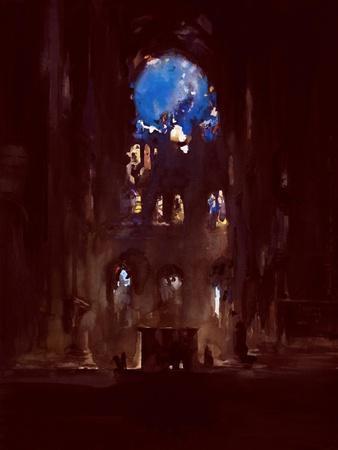 Interior of Notre-Dame