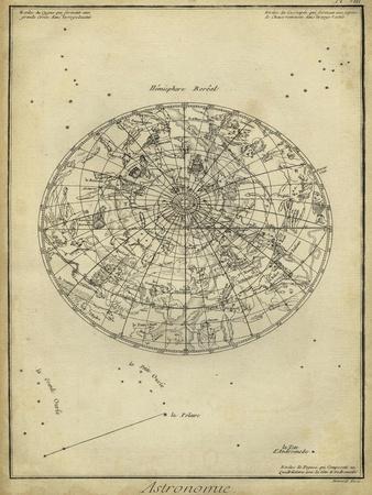 Antique Astronomy Chart I