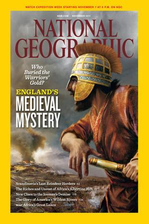 Cover of the November, 2011 National Geographic Magazine by Daniel Dociu