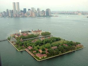 Ellis Island by Daniel Hulshizer