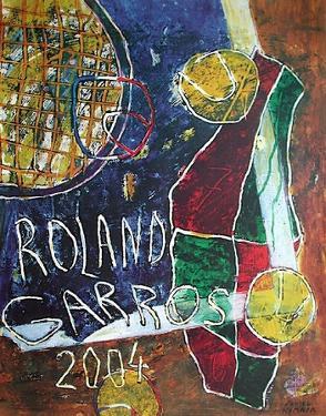 Roland Garros, 2004 by Daniel Humair