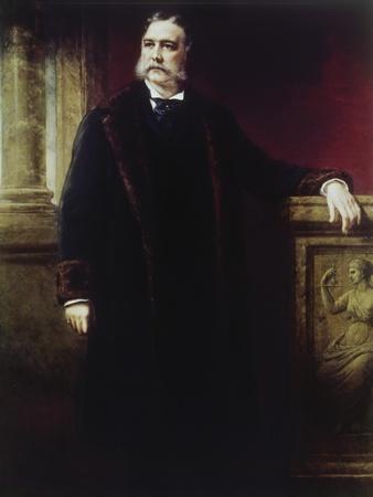 Chester a Arthur, (1830-1886)