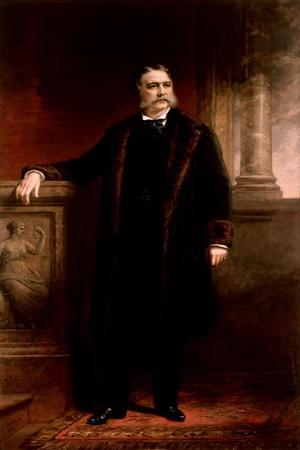 Chester Alan Arthur, 1885