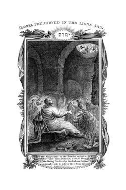Daniel in the Lions' Den, 1804