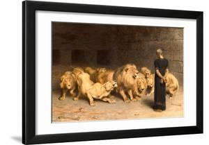 Daniel in the Lions' Den  1872