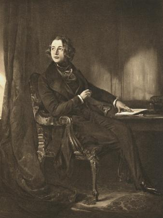 Charles Dickens, English Novelist and Journalist, C1836 by Daniel Maclise