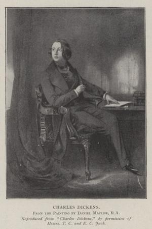 Charles Dickens by Daniel Maclise