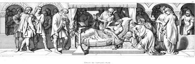 Death of Edward the Confessor, 1042 by Daniel Maclise