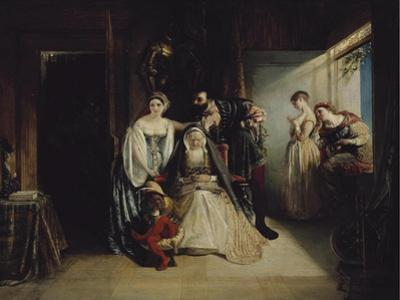 Francis I and Diane De Poitiers by Daniel Maclise