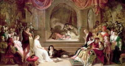 Hamlet by Daniel Maclise