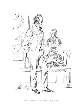 John Galt, Writer by Daniel Maclise