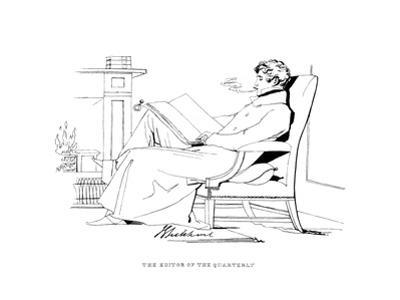 John Gibson Lockhart by Daniel Maclise