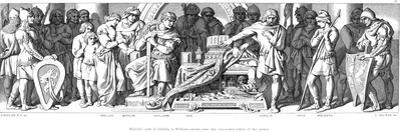 King Harold Swears Allegiance to William of Normandy, C1866 by Daniel Maclise