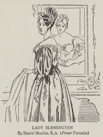 Lady Blessington by Daniel Maclise