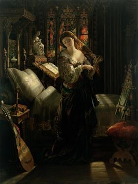 Madeline after Prayer, 1868 by Daniel Maclise