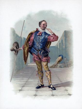 Malvolio, 1891 by Daniel Maclise