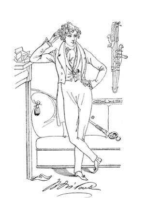 Mr Disraeli in His Youth, 19th Century by Daniel Maclise