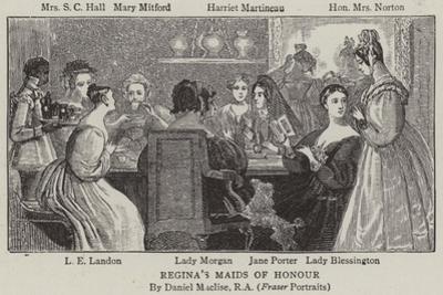 Regina's Maids of Honour by Daniel Maclise