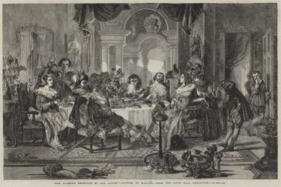 The Author's Reception by the Actors by Daniel Maclise