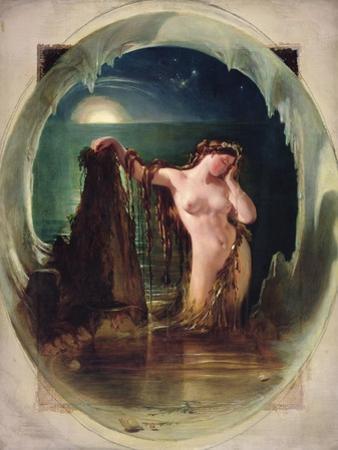 The Origin of the Harp, C.1842 by Daniel Maclise
