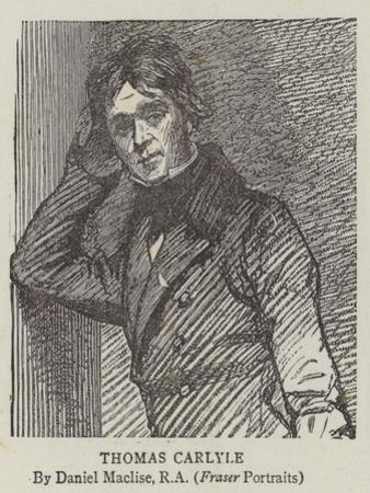 Thomas Carlyle by Daniel Maclise