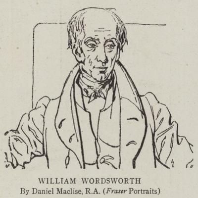 William Wordsworth by Daniel Maclise