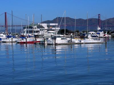 Boats in Marina, San Francisco, CA