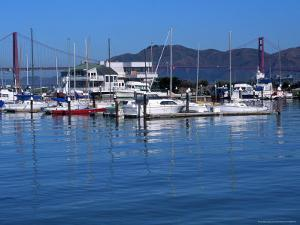 Boats in Marina, San Francisco, CA by Daniel McGarrah