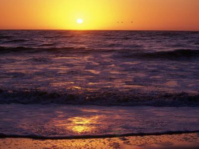 Ocean Beach at Sunset, San Francisco, CA