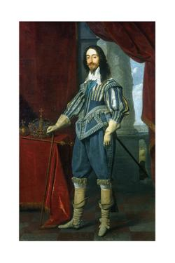 Charles I, King of Great Britain and Ireland, 1631 by Daniel Mytens
