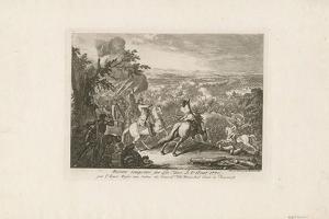 The Battle of Cahul, 1770 by Daniel Nikolaus Chodowiecki