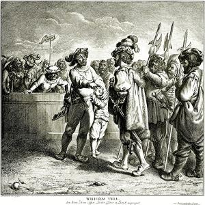 William Tell, 1781 by Daniel Nikolaus Chodowiecki