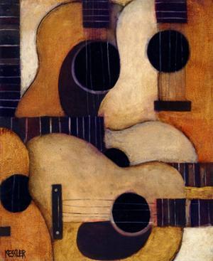 Guitars by Daniel Patrick Kessler