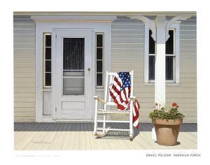 American Porch by Daniel Pollera