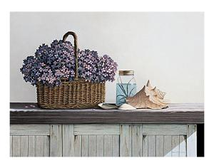 Still Life with Flowers by Daniel Pollera