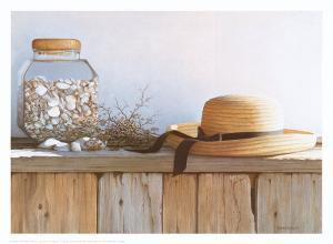 Still Life with Seashells by Daniel Pollera
