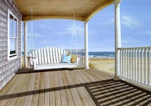 The Porch Swing by Daniel Pollera