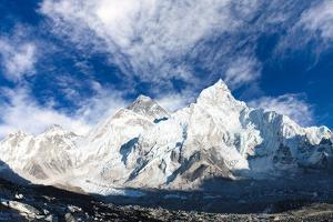 Panoramic View of Mount Everest by Daniel Prudek