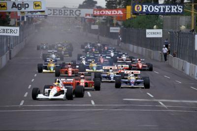 Ayrton Senna by Daniel Reinhard