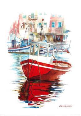 Porto Mediterranio IV by Daniela Lecchi