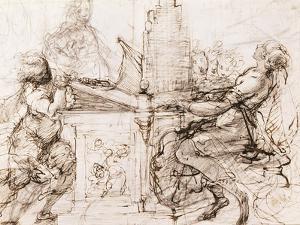 Saint Cecilia at the Organ, 1620-1629 by Daniele Crespi