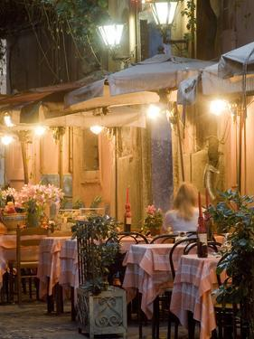 A Restaurant in Vicoli in Trastevere by Daniella Nowitz