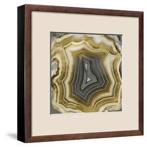 Agate in Gold & Grey by Danielle Carson
