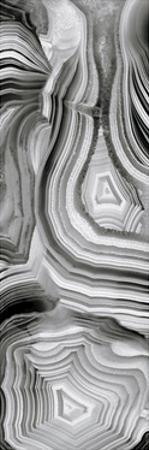 Agate Panel Grey III by Danielle Carson