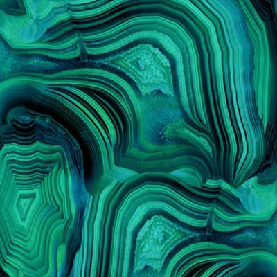 Malachite in Green and Blue by Danielle Carson