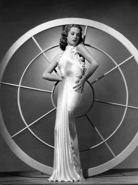 Danielle Darrieux, 1938 (b/w photo)