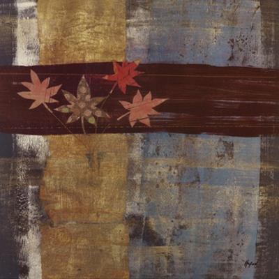 Asian Garden Abstract II by Danielle Hafod