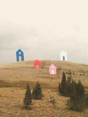 Cottages on Big Horn by Danielle Kroll