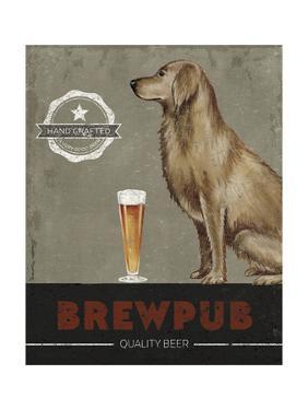 Brewpub Dog Poster by Danielle Murray
