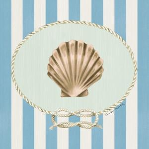 Naughtical and Nice Sea Shell by Danielle Murray